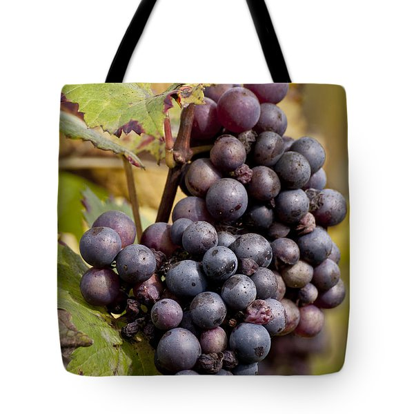 The End Of Grape Harvest Tote Bag by Simona Ghidini