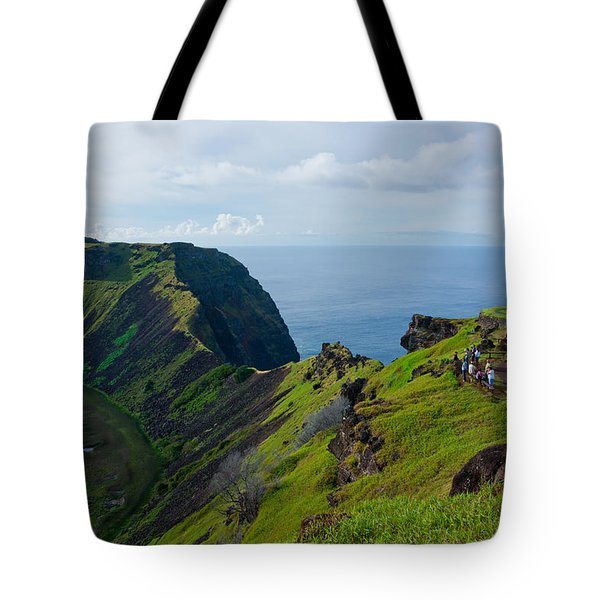 The End Of The Earth Tote Bag