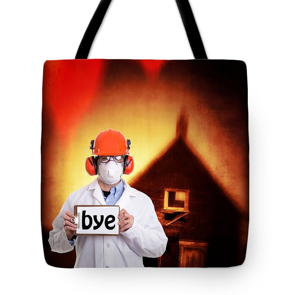The End Of The World Tote Bag by Edward Fielding