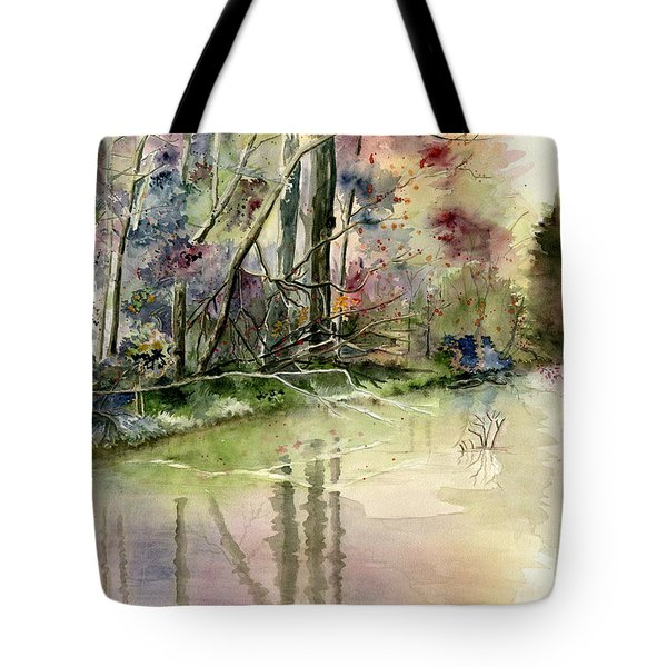 The End Of Wonderful Day Tote Bag by Melly Terpening