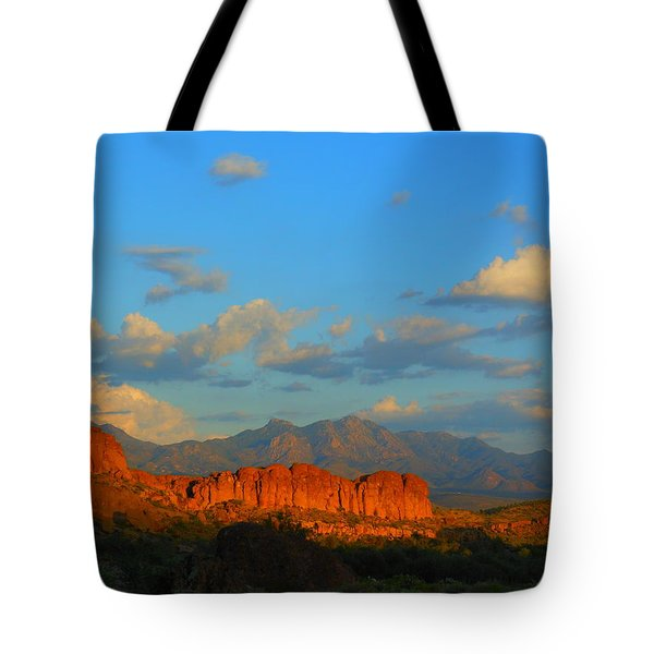 The Endangered West Tote Bag