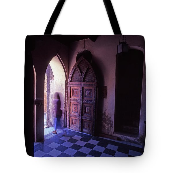 The Entrance And Door Of The Anglican Tote Bag