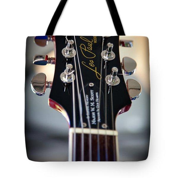 The Epiphone Les Paul Guitar Tote Bag by David Patterson
