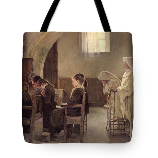The Eve Of The First Communion Tote Bag