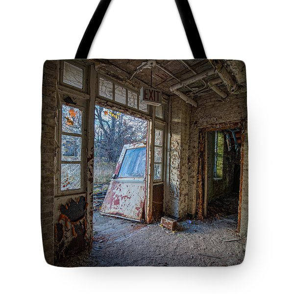 The Exit Tote Bag