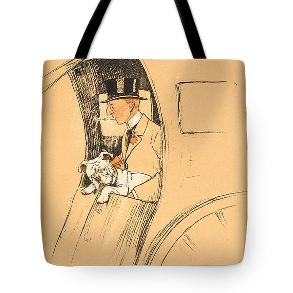 The Extra Passenger Tote Bag by Cecil Charles Windsor Aldin
