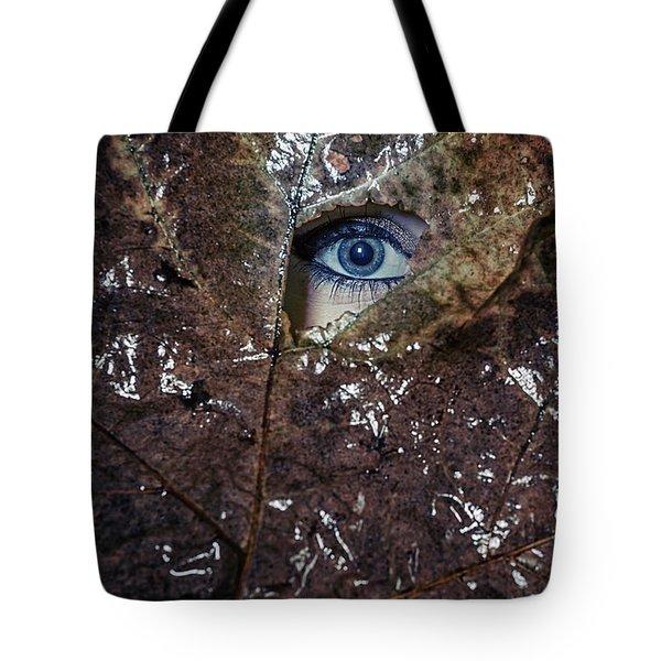 The Eye Tote Bag by Joana Kruse