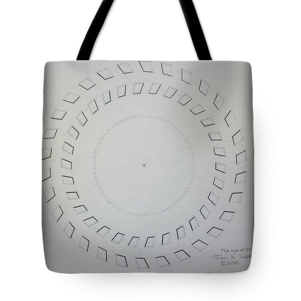 The Eye Of Pi Tote Bag