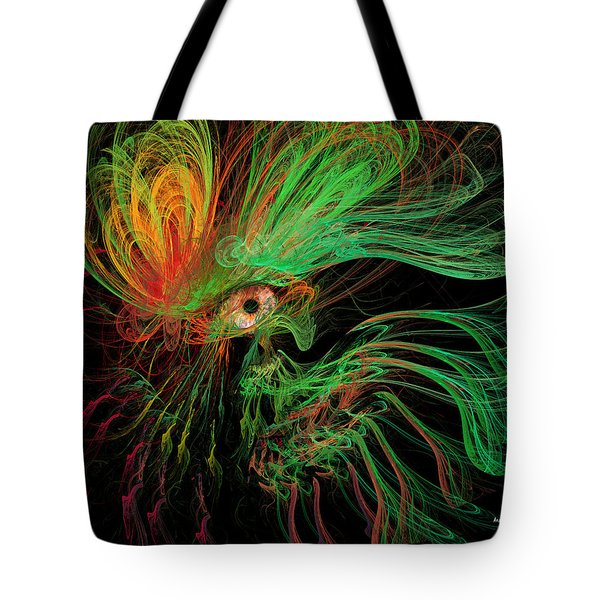The Eye Of The Medusa Tote Bag by Angela A Stanton
