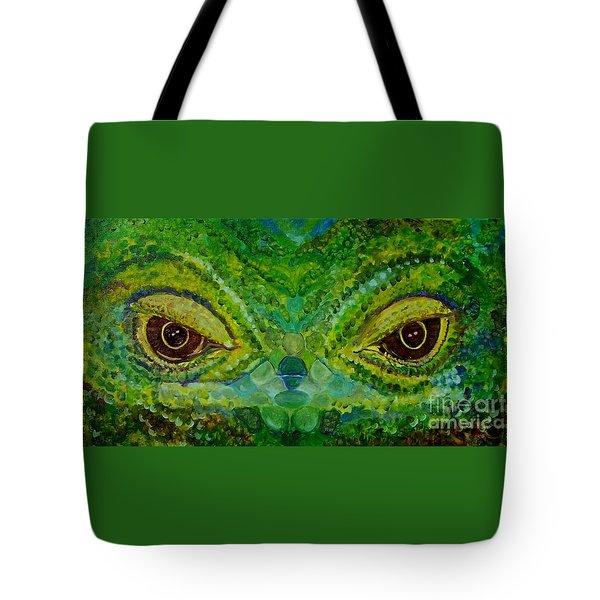 The Eyes Have It Tote Bag by Julie Brugh Riffey