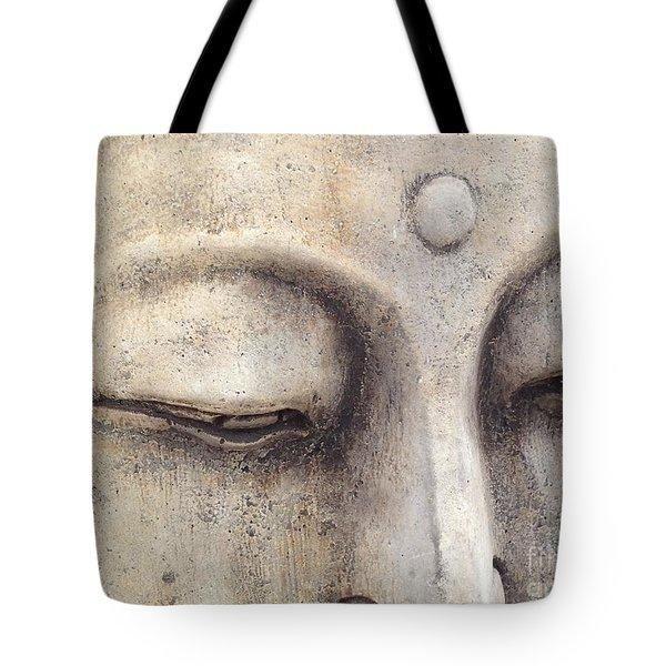 The Eyes Of Buddah Tote Bag