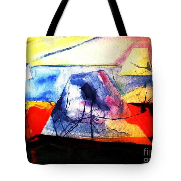 The Fabric Of My Heart Tote Bag by Hazel Holland