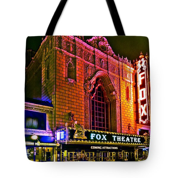 The Fabulous Fox In St. Louis Tote Bag