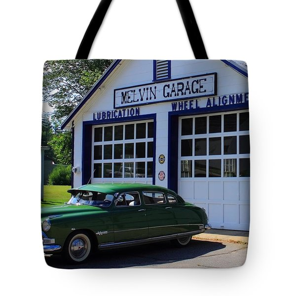 The Fabulous Hudson Hornet Tote Bag