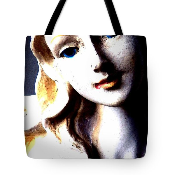 The Face Of A Woman Tote Bag