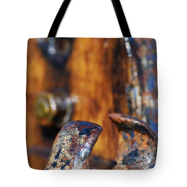 Tote Bag featuring the photograph The Fairlead by Wendy Wilton