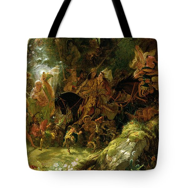 The Fairy Raid Tote Bag by Sir Joseph Noel Paton