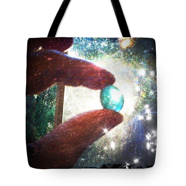 Tote Bag featuring the photograph The Fairy Stone - Nature Angel  by Absinthe Art By Michelle LeAnn Scott