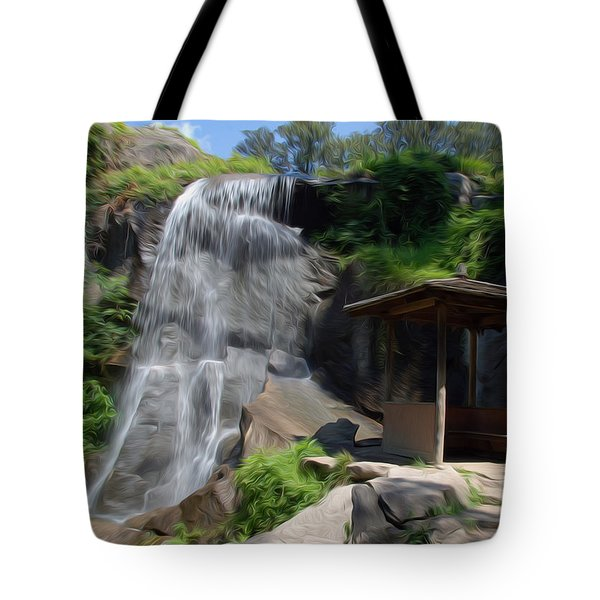 Tote Bag featuring the photograph The Falls At Maymont by Kelvin Booker