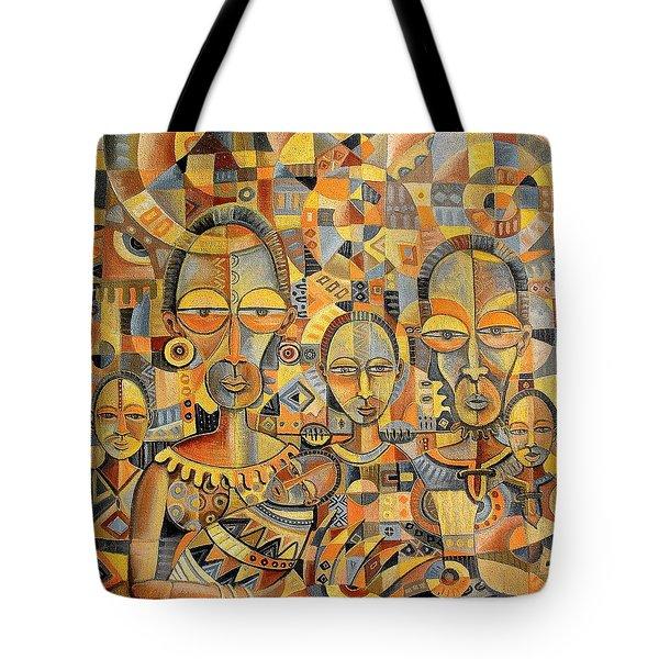 The Family Album Tote Bag