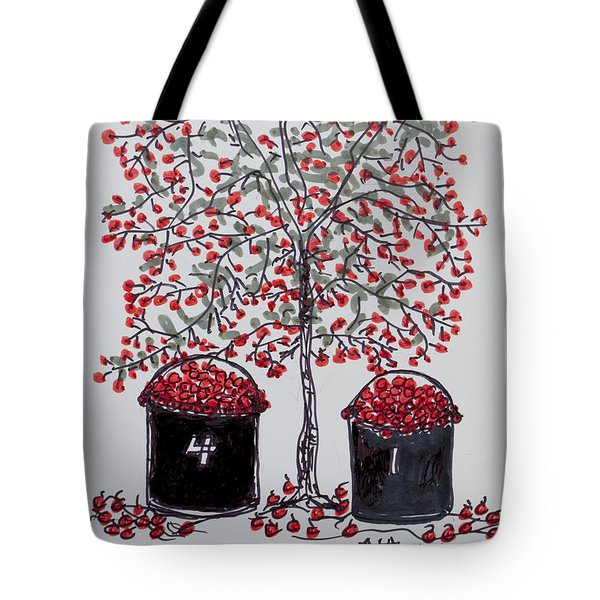The Famous Door County Cherry Tree Tote Bag