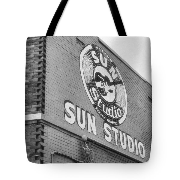 The Famous Sun Studio In Memphis Tennessee Tote Bag by Dan Sproul