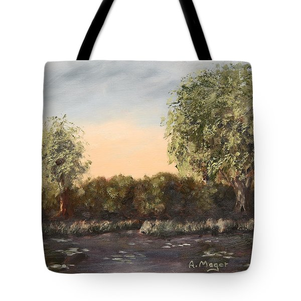 The Far End Of The Pond Tote Bag
