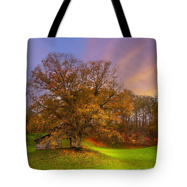 The Farm Tote Bag by Debra and Dave Vanderlaan