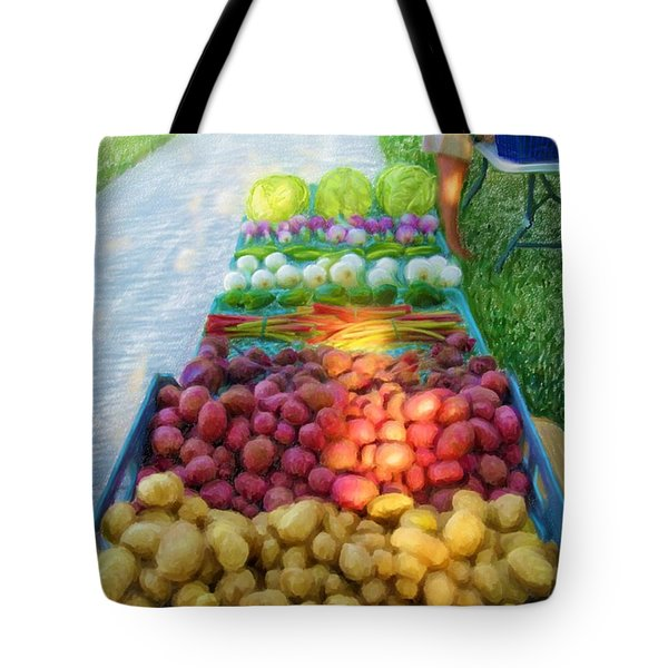 The Farmers' Market Tote Bag