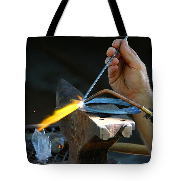 The Farrier Tote Bag by Davandra Cribbie