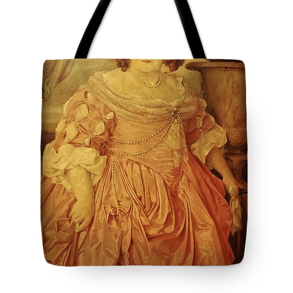 The Fat Lady Tote Bag by Gina Dsgn