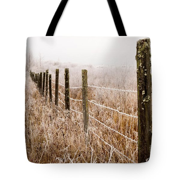 The Fence Still Stands Tote Bag