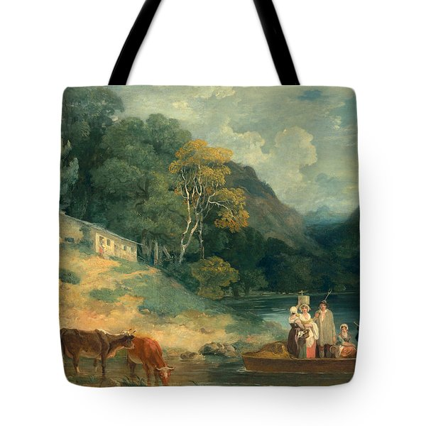 The Ferry Tote Bag by Francis Wheatley