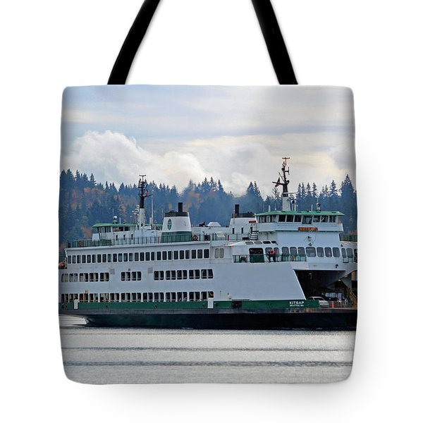 The Ferry Kitsap Tote Bag