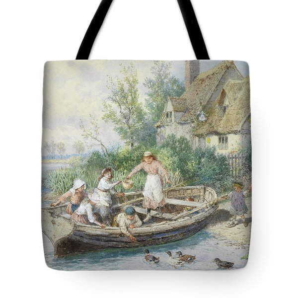 The Ferry Tote Bag by Myles Birket Foster