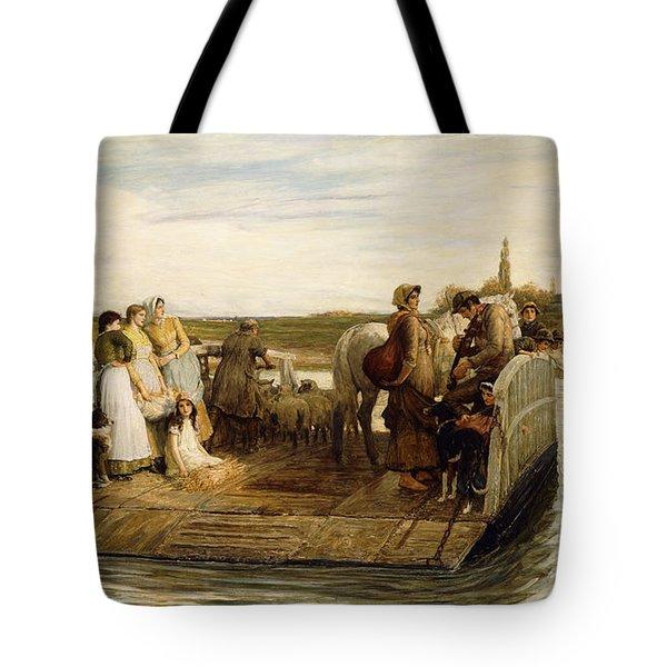The Ferry Tote Bag by Robert Walker Macbeth
