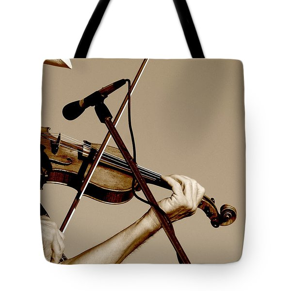 The Fiddler Tote Bag by Robert Frederick