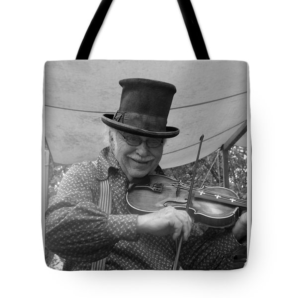 The Fiddler Tote Bag by Sara  Raber