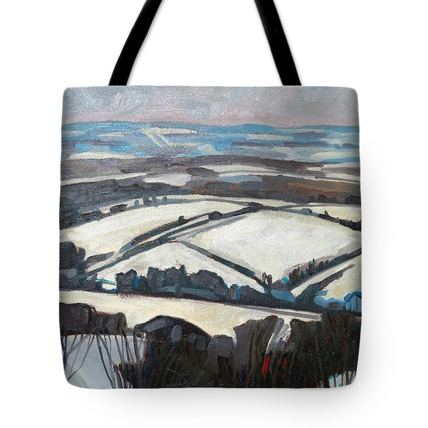 The Fifth Line Tote Bag by Phil Chadwick