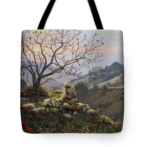 The Fig Tree   Mt Carmel Tote Bag