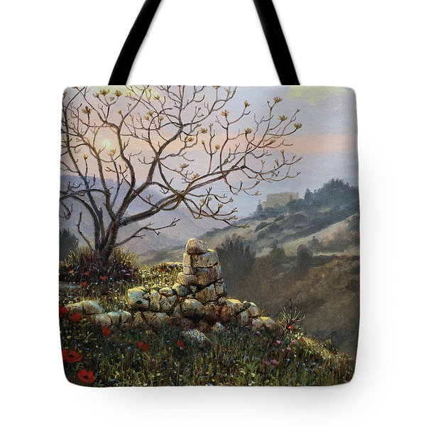 The Fig Tree   Mt Carmel Tote Bag