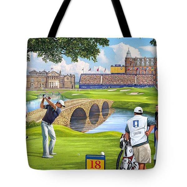 The Final Hole -golfers Paradise Tote Bag