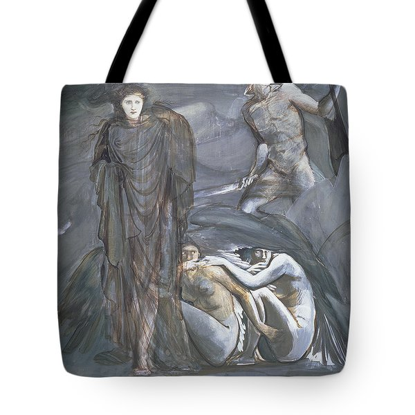The Finding Of Medusa, C.1876 Tote Bag by Sir Edward Coley Burne-Jones