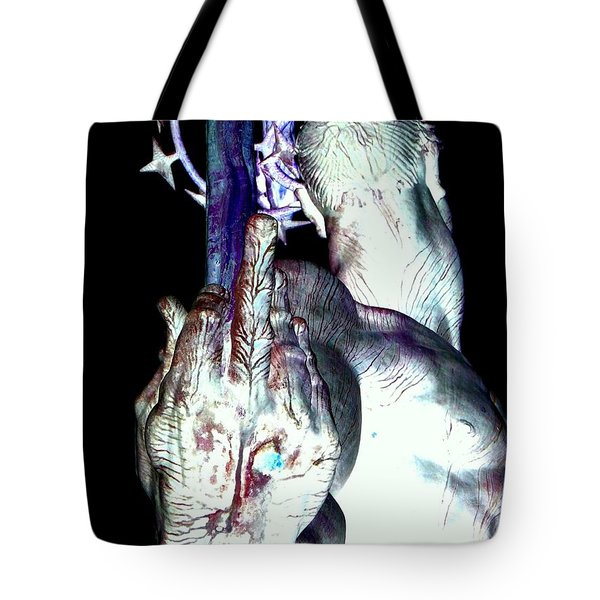 The Finger Tote Bag by Ed Weidman