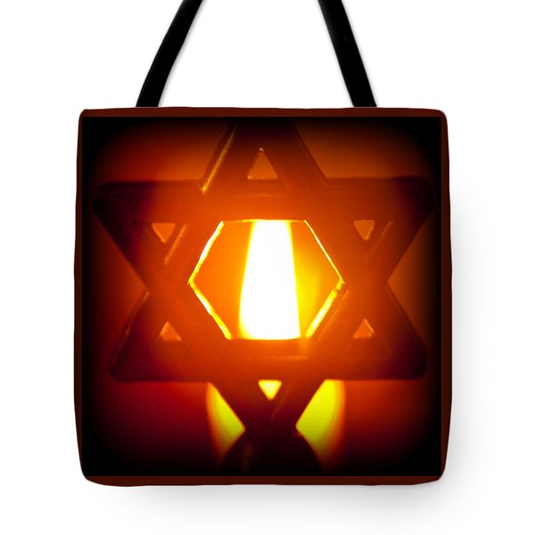 The Fire Within Tote Bag by Tikvah's Hope