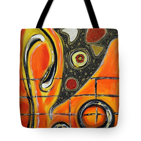 The Fires Of Charged Emotions Tote Bag