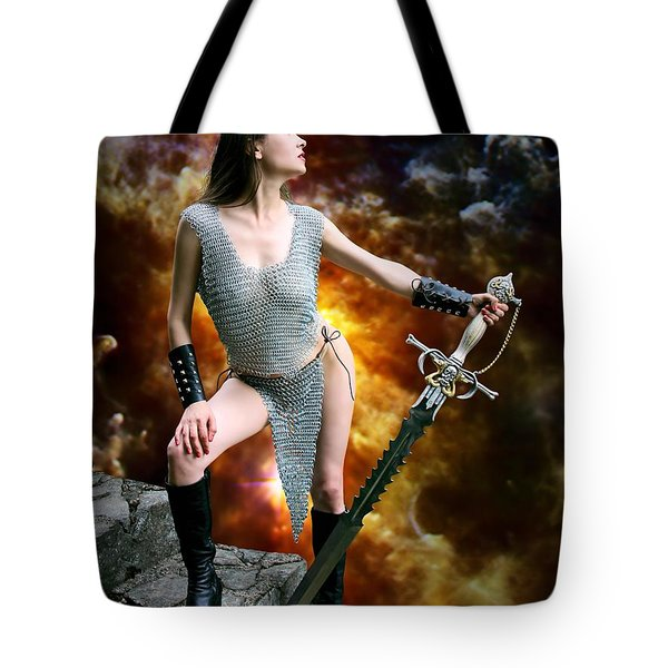 The Fires Of Mt. Doom Tote Bag