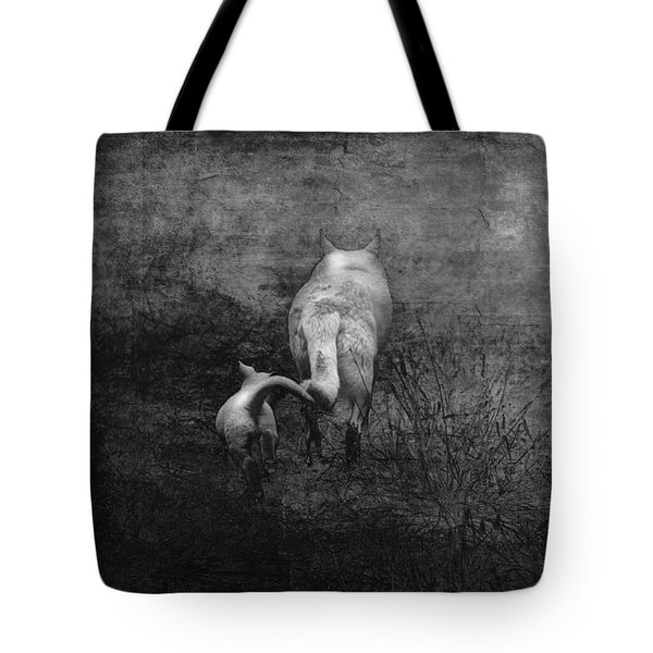 The First Hunt Tote Bag by Ron Jones