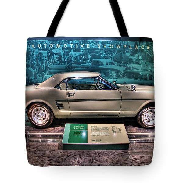 The First Mustang  Tote Bag by Nicholas  Grunas