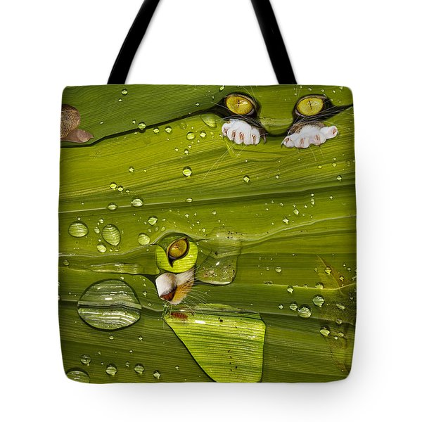 The First Rain Tote Bag by Angela A Stanton